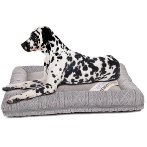 PET BED - KNIT PRINT (GREY) (LARGE) YF97297L
