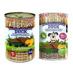 DUCK - BLUE BERRIES, COURGETTE, PUMPKIN (HYPOALLERGENIC) 390g FC0LBPD390D