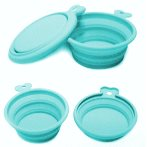 COLLAPSIBLE TRAVEL DOUBLE BOWL (LIGHT BLUE) (300ml+200ml) UP0PPSD0121AQ