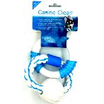 DOUBLE RINGS - NYLON & ROPE WITH NYLON BALL (BLUE) IDS0WB15429B