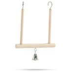 WOODEN SWING + BELL BT05101