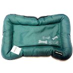 PET MAT - BONE (GREEN) (LARGE) YF95580L