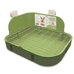 RABBIT SQUARE TOILET GREEN EDNA016