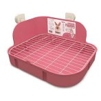 RABBIT SQUARE TOILET - PINK EDNA017