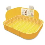 RABBIT SQUARE TOILET - YELLOW EDNA018
