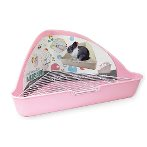 RABBIT TRIANGLE TOILET PINK EDNA022