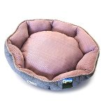 PET BED OVAL (RED) (MEDIUM) YF98606RDM