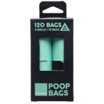 BIODEGRADABLE POO BAG REFILL (8 rolls x 15pcs) FY20194