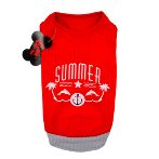 SWEAT SHIRT - SUMMER (RED) (LARGE) SS0TK042RDL