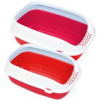 BETA PLUS LITTER TRAY (RED) (MAXI) MPS0S08040401