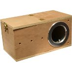 BIRD BREEDING BOX - MINI (13x13x25cm) 02761