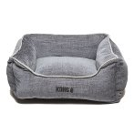 LOUNGER BED (GREY / LIGHT GREY PIPING) (SMALL) DGS0KONGHLB2244