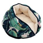 TEXTILE DOME BED - BANANA LEAF (GREEN) (50x32cm) YF105018GN