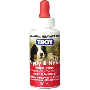 Troy Dog Worm Syrup Singapore | Pet Lovers Centre