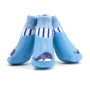 Paw Paw Dog WATERPROOF PET SOCKS DOLPHIN HIPPO BIRD SIZE  2  c6cdc78367c8