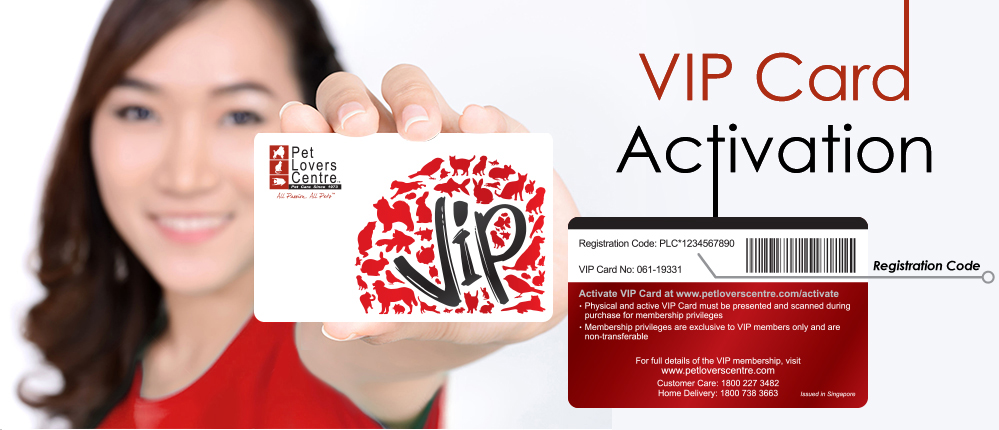 Activate VIP Card