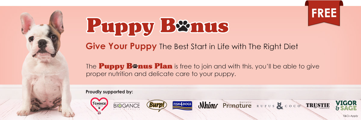 Puppy Bonus Plan