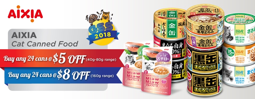 Aixia Cat Food Promotion