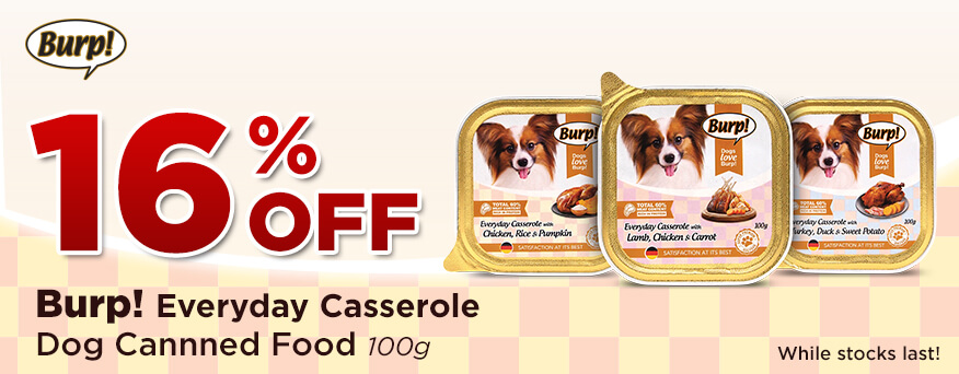 Burp Canned Food Everyday Casserole Promotion