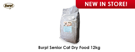 Burp! Senior Cat Dry Food 12kg
