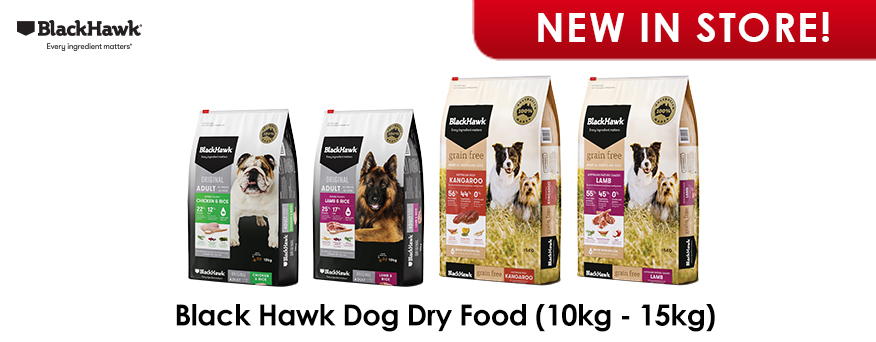 Black Hawk Dog Dry Food Big Bag