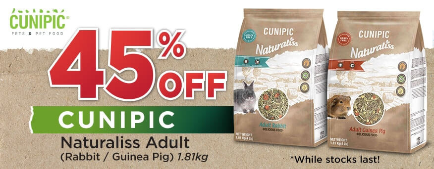 Cunipic Naturaliss Adult Promotion