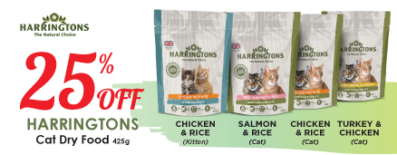 Harringtons Cat Dry Food Promotion