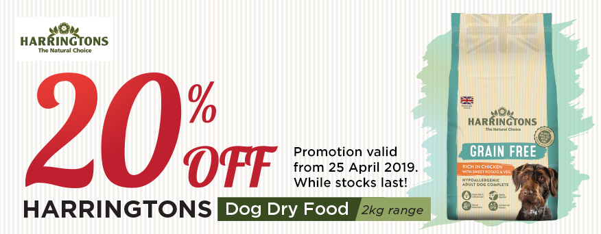 Harringtons Dog Dry Food Promotion