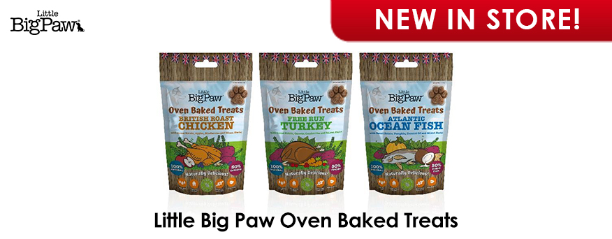 Little Big Paw Oven Baked Treats