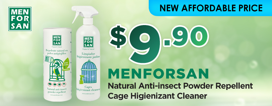 Menforsan bird products Promotion
