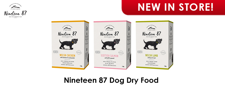 Nineteen 87 Dog Dry Food