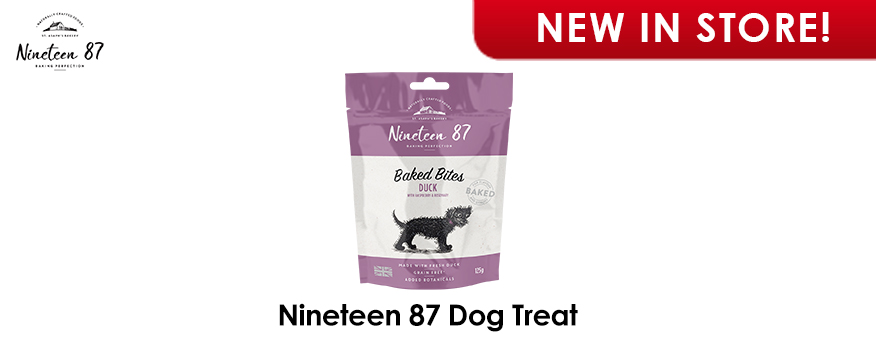 Nineteen 87 Dog Treats