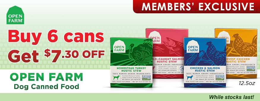 Open Farm Dog Canned Food Promotion