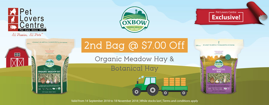 Oxbow Hay Promotion