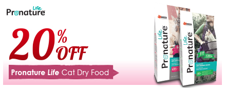 Pronature Life Cat Dry Food Promotion