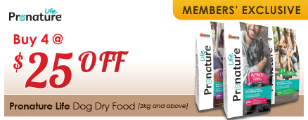 Pronature Life Dog Dry Food Members' Exclusive