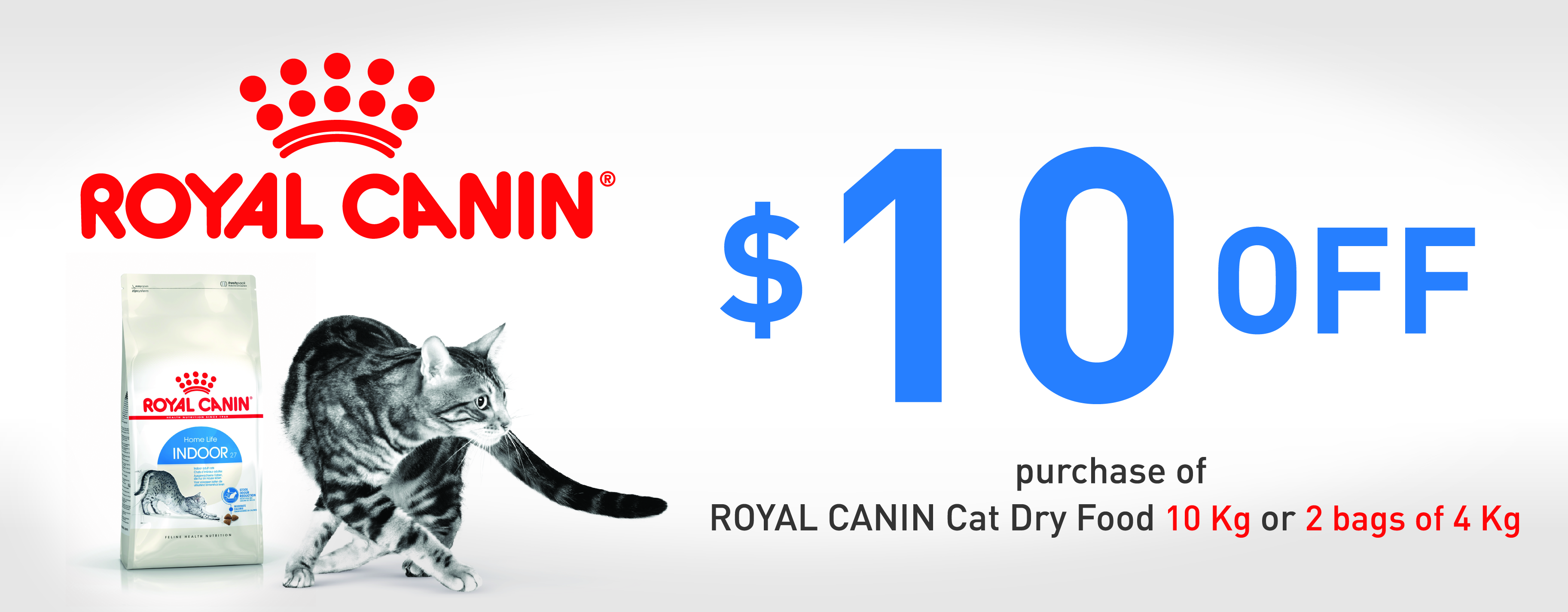 Royal Canin Cat Dry Food Promotion