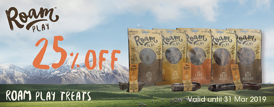 Roam Treats Promotion
