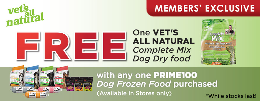 Vet's All Natural Promotion