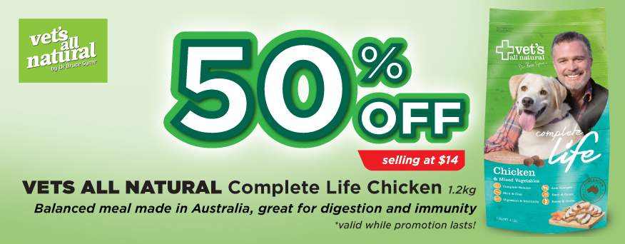 Vet's All Natural Complete Life Promotion